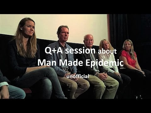 Man Made Epidemic Q+A June 25, 2016 in London