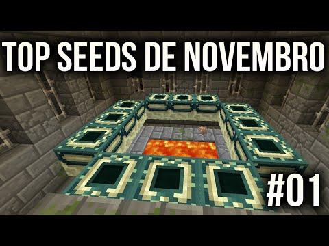 Minecraft 1.9 - SEED COM STRONGHOLD PERTO DO SPAWN - NOVEMBRO