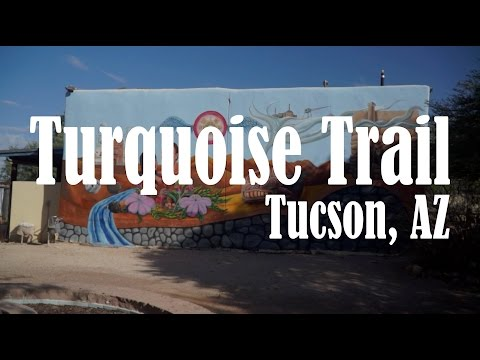 Getting Lost On The Turquoise Trail In Tucson Arizona