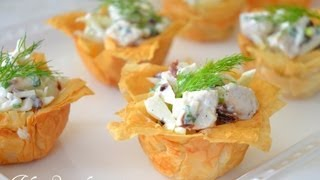 How To Make Your Own Phyllo Cups