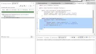 Eclipse Java : Tests unitaires en JUnit3 ou JUnit4 plus couverture de code (french français))
