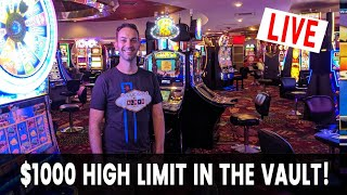 🔴 HIGH LIMIT ROOM Live Stream 🎰 San Manuel Casino with Brian Christopher Slots #AD