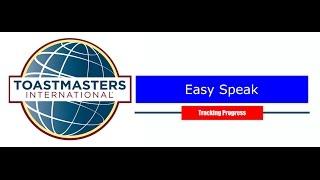 Easy Speak: Tracking Progress