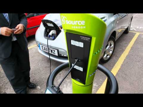 How to charge an electric car - Source London