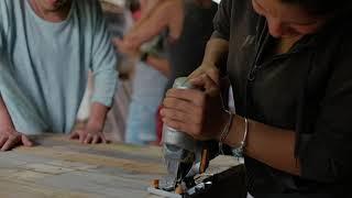 Fabrication d'un séchoir solaire Éco-Lieu Jeanot