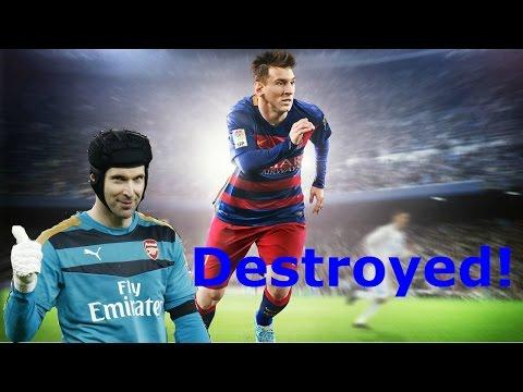 Fifa 16 | Destroying Record-Breaker Petr Cech in Champions Shield!