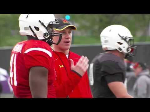 """""""A Day in the Life"""" of Maryland Head Coach DJ Durkin"""