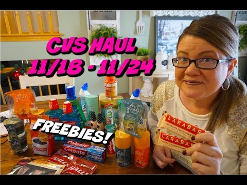 CVS HAUL 11/18 - 11/24 | Moneymaker Hair Care, FREE Larabars & more!