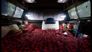2-Foot DIY Topper Extension Set Up For Sleeping In Your Truck