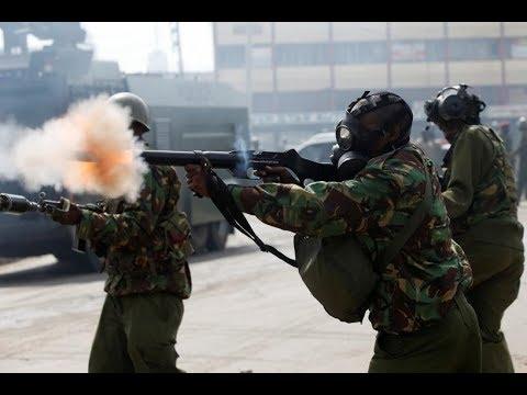 At least five k illed in Kenya as violence greets opposition leader's return