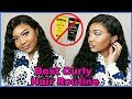 I Laid This WIG WITHOUT Got2bGlued OMG! CURLY HAIR ROUTINE FOR WIGS! | Premier Lace Wigs