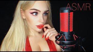 АСМР Триггеры на Микрофон HYPERX QUADCAST ASMR Red Triggers NEW mic test