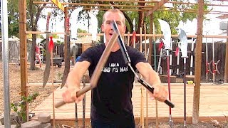 Greatest Chinese Kung Fu Weapon:  Nunchucks