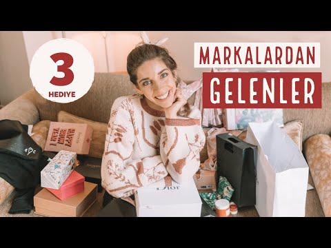 MARKALARDAN GELEN PAKETLER & SİZE HEDİYE...