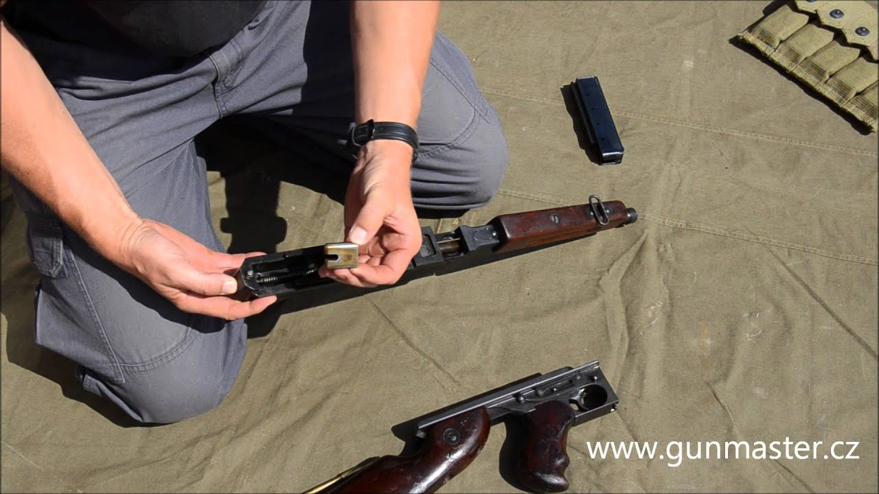 THOMPSON M1A1 disassembly