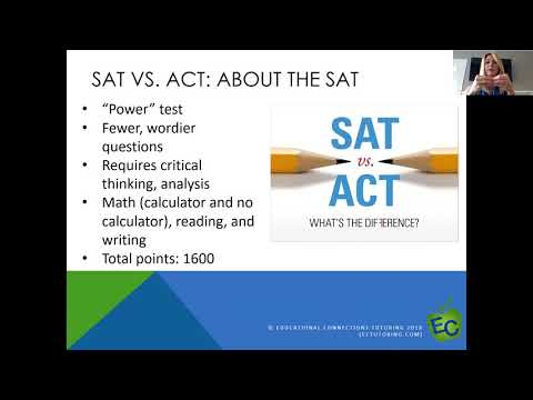 The Score They'll Need on the SAT/ACT and How to Get It Webinar 3.12.18