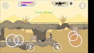 Hacked mini militia - gameplay