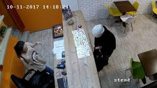 развод на кассе в кафе