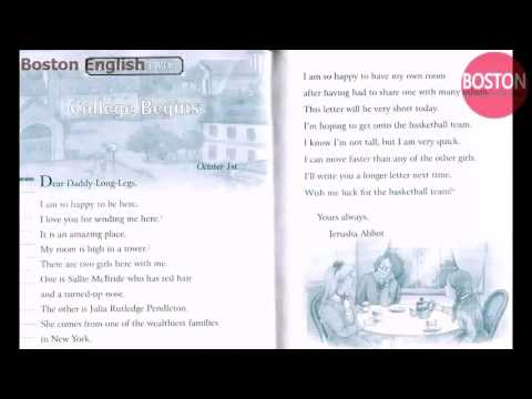 English listening practice       DADDY LONG LEGS       Learn english through audiobook