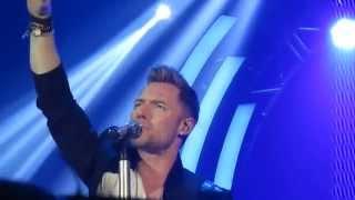 Ronan Keating - The Way You Make Me Feel live at Birmingham
