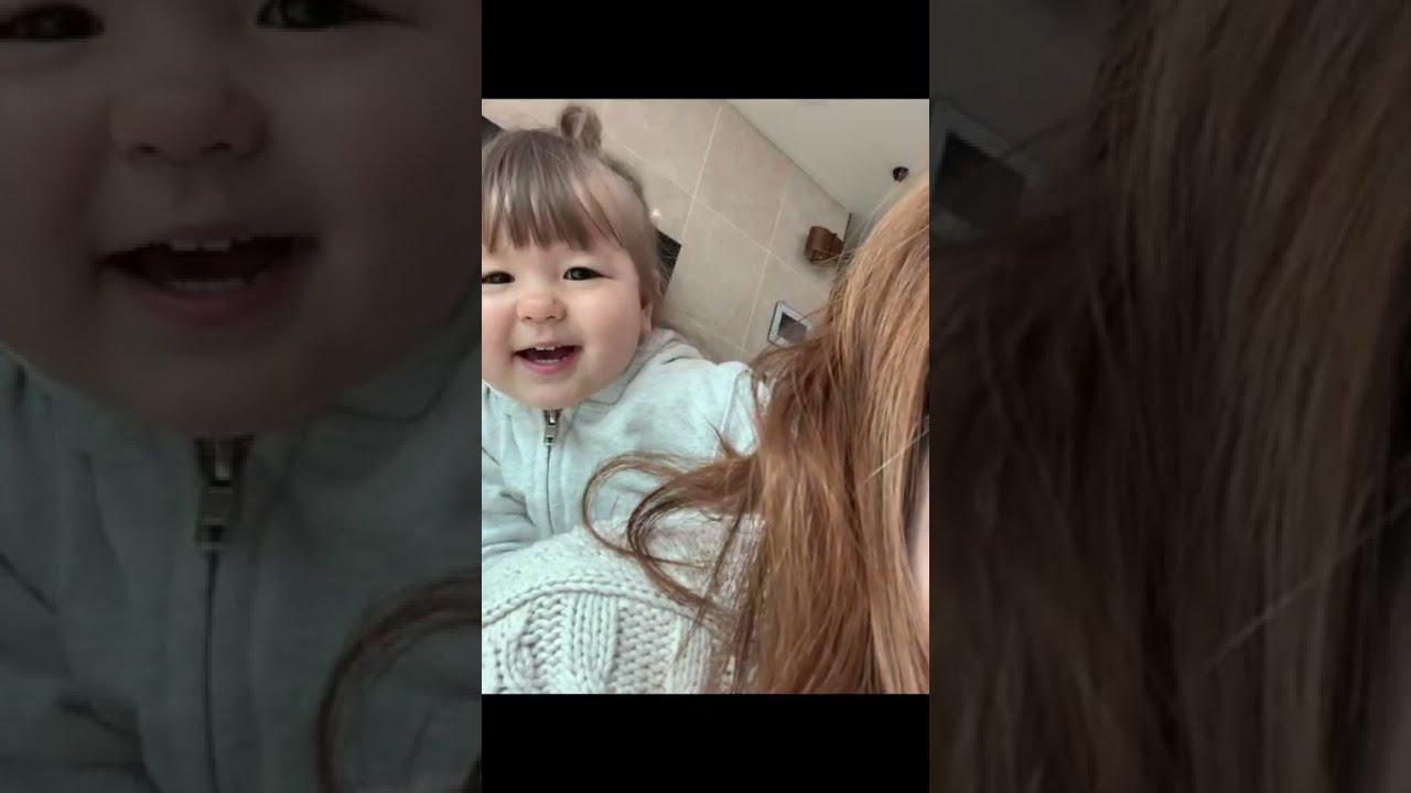 【お喋り1歳児】成長記録ビデオ♡ 国際結婚|海外生活 |ママライフ