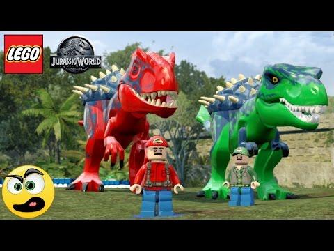 Jogar LEGO Jurassic World Mario e Luigi