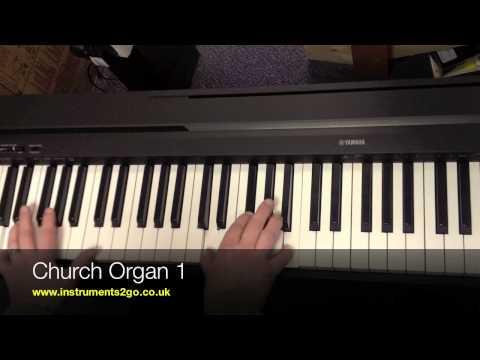 Yamaha P35 Digital Piano Demonstration