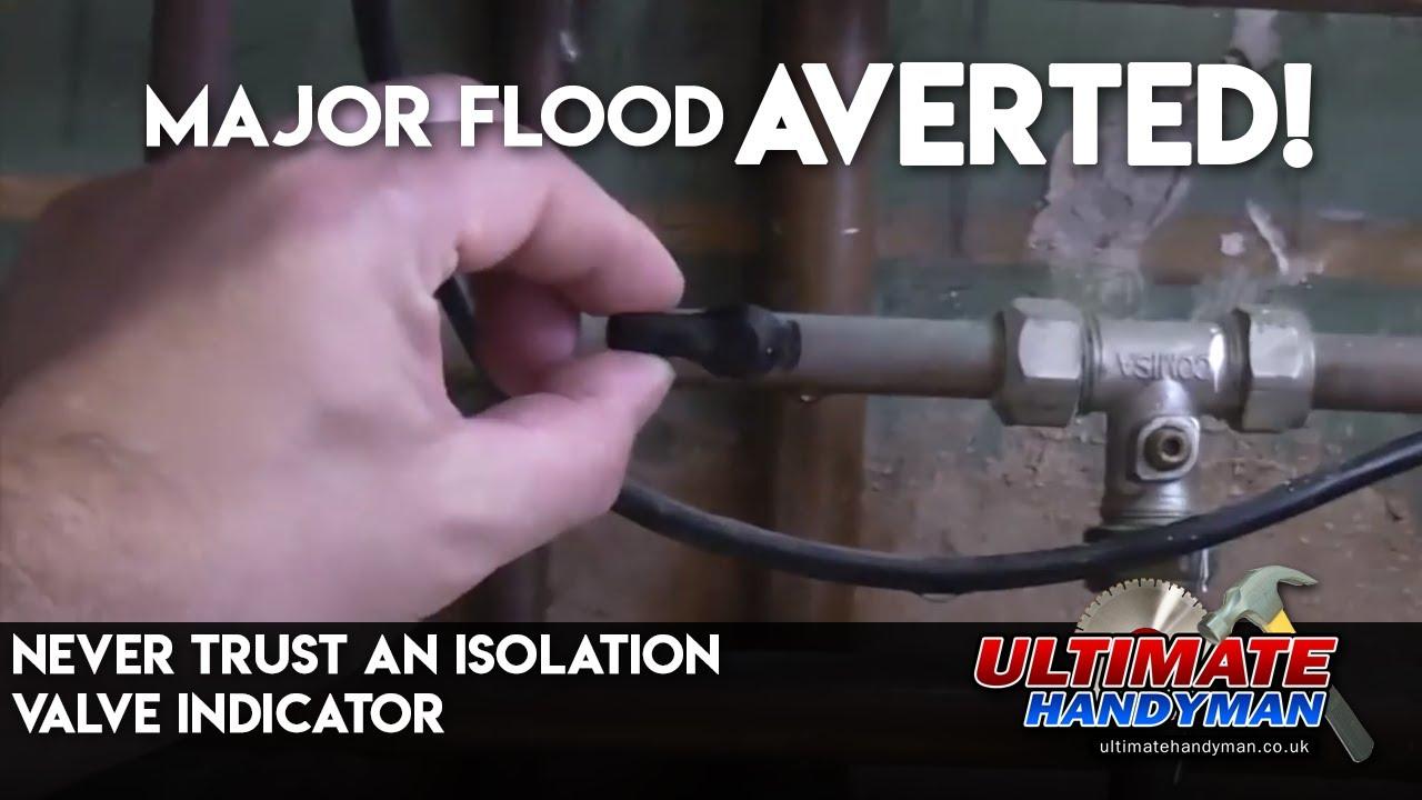 Never trust an isolation valve indicator - YouTube