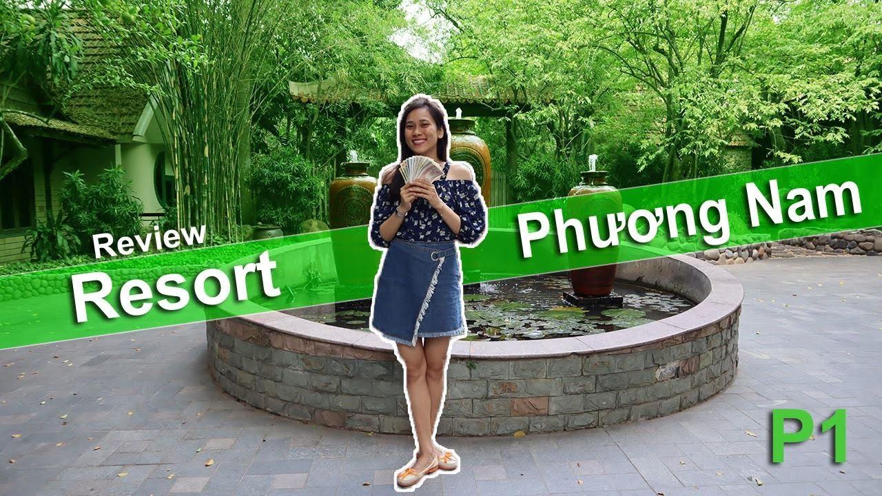 🏝️Thoải mái thư giản tại Resort sinh thái Phương Nam Bình Dương P1   Review tất tần tật   Ngọc Ngọc
