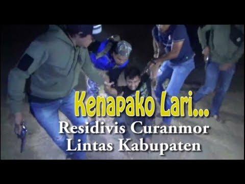 Residivis Curanmor Lintas Kabupaten Melawan Petugas, Begini Nasibnya