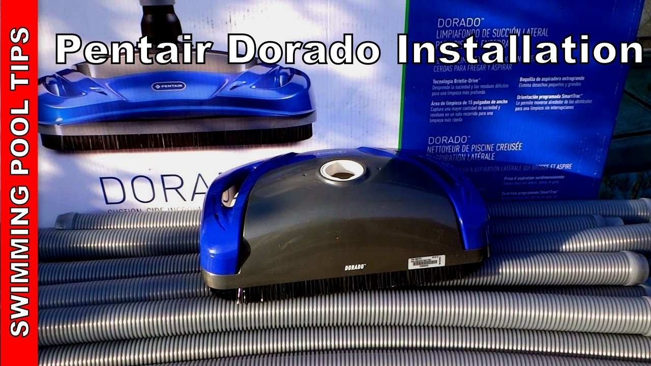 pentair dorado set up and installation video youtube rh youtube com pentair dominator pool cleaner manual pentair pool cleaner troubleshooting