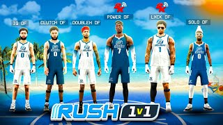 FIRST EVER DF 1v1 RUSH RACE in NBA 2K21! Who's the BEST PLAYER in MY CLAN!? NBA2K21
