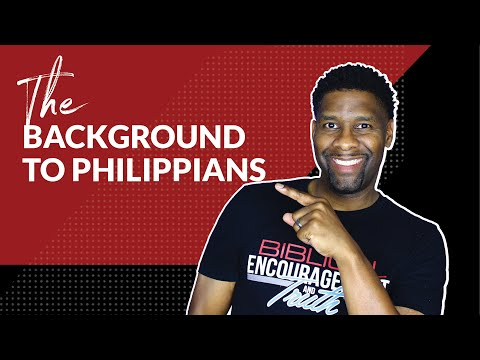 Background to Philippians | BOOK STUDY