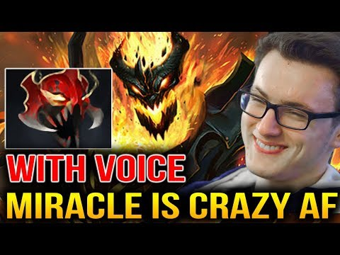 Miracle- [With Voice] HE IS A CRAZY GUY Dota 2 thumbnail