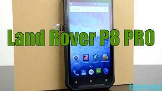 land Rover P8 Pro - защищённый смартфон в кожаном корпусе!
