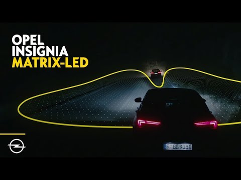 Opel Insignia: Klassenbestes Licht – Matrix LED