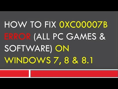 0xc00007b error fix [if nothing worked for you then try this]