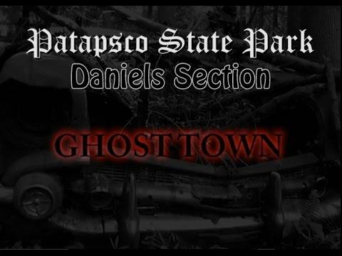 Patapsco State Park Daniels Ghost Town Part 1 - The Church Ruins