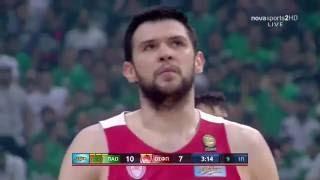 Panathinaikos - Olympiacos 66-68 [Full game] (2ος τελικός Basket League 2015-16)