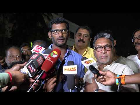Vishal finally opens up about Ponvannan resignation and nadi
