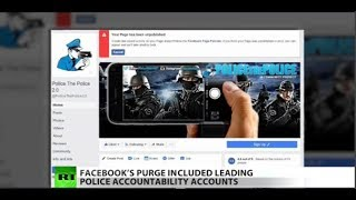 Facebook Censoring Citizens Who Track Bad Cops