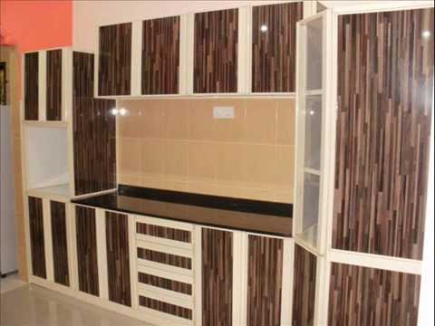 My modern aluminium kitchen youtube for Kitchen set aluminium modern