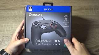 Nacon Revolution Pro Controller 3 PS4/PC: Présentation et avis sur la nouvelle manette e-Sport!