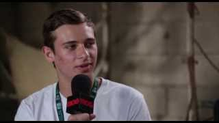 FLUME - Groovin The Moo 2013 Interview BPMTV