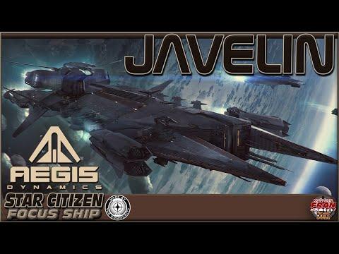 Star Citizen FR Focus Ship Aegis JAVELIN - Subtitles!!!! + Survey