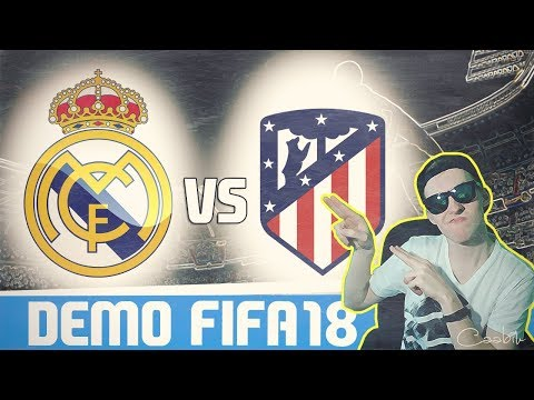FIFA 18 CZ   MOJE PRVNÍ DERBY!   Real Madrid - Atlético Madrid