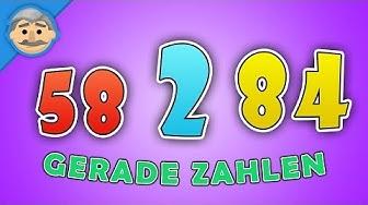 Gerade Zahlen bis 100 - Zahlen lernen für Kleinkinder | instasmart KIDS