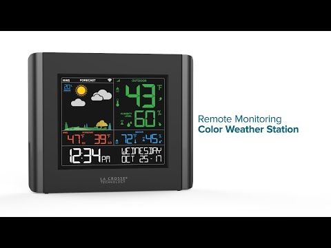V10-TH Weather Station Features
