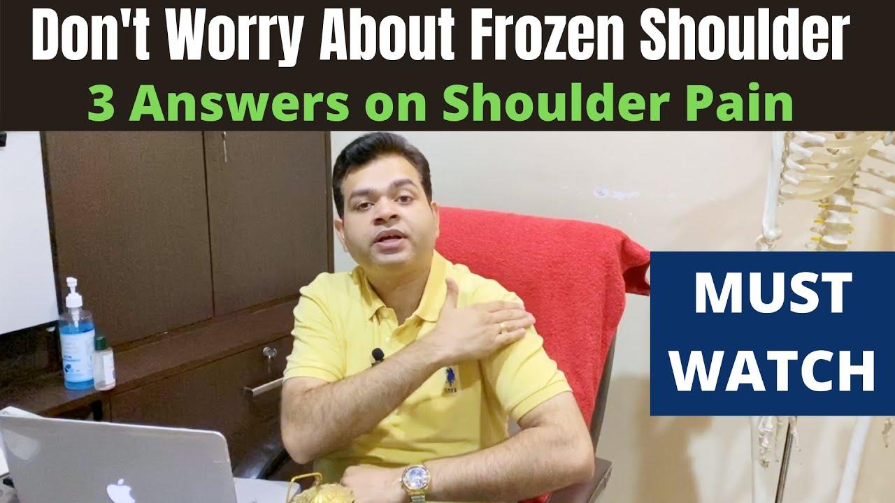 Frozen Shoulder or Rotator Cuff Tear Symptoms? Shoulder Pain Treatment, Shoulder Pain Hot or Cold?