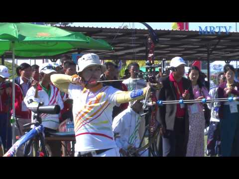 Archery Competitions During The SEA Games